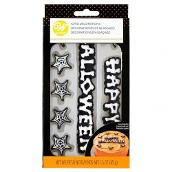 Wilton Icing Decorations Happy Halloween