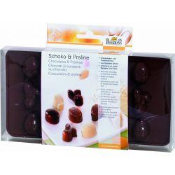 Birkmann Praline & Chocolate Moulds Happy Easter