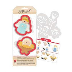 Sweet Sugarbelle Nativity Cookie Cutter set/10pc