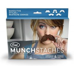 Fred Cookie Cutter Munchstaches