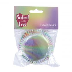 BWL Baking Cups Iridescent