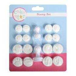 Cake Star Stamp Set Hands/Feet