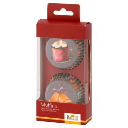 Birkmann Muffin Paper Form Sweet Moments 48pc