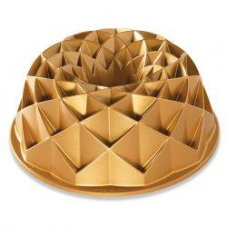 Heritage bundt pan gold