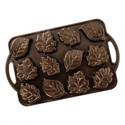Nordic Ware Cakelet Leaflettes
