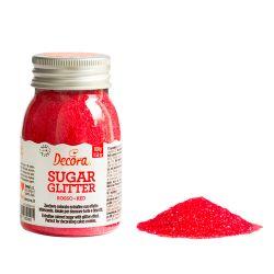 Decora Glitter Sugar Red 100gr