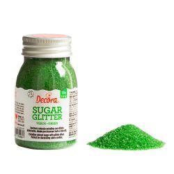 Decora Glitter Sugar Green 100gr
