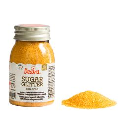 Decora Glitter Sugar Gold 100gr