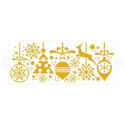 Decora Stencil Christmas 28x10