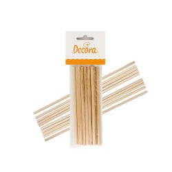 Decora Wooden Dowels 16cm