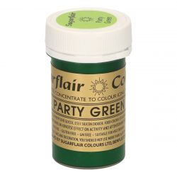 Sugarflair Paste Colour Party Green