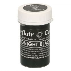 Sugarflair Paste Colour Pastel Midnight Black