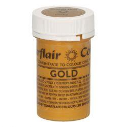 Sugarflair Paste Colour Satin Gold