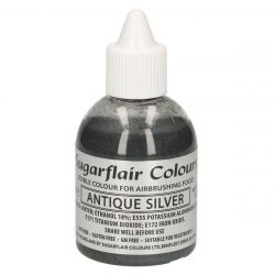 Sugarflair Airbrush Colouring Antique Silver - 60ml