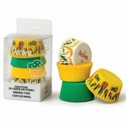 Decora Baking Cups Tropical 75/pc