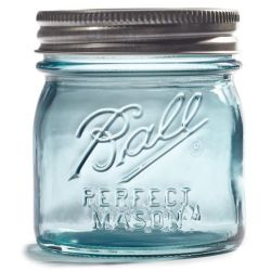 Ball Jars Aqua Vintage Collector's Edition 236ml pk/4