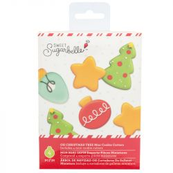 Sweet Sugarbelle Oh Christmas Tree Mini Cookie Cutters