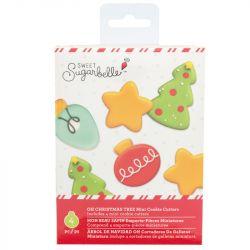 Sweet Sugarbelle Oh Christmas Tree Mini Cookie Cutters