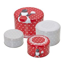 Birkmann Cake Tin Set Retro