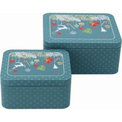 Birkmann Cake Tin Set Christmas Decorations