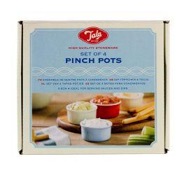 Tala Pinch Pots Blue set/4