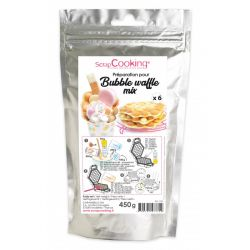 ScrapCooking Bubble Waffle Mix 450gr