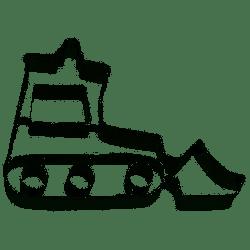 Birkmann Cookie Cutter Bulldozer 8cm