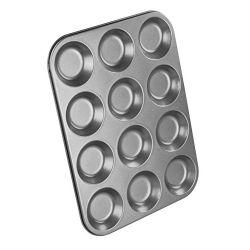 Tala Chef Aid Budget 12 Cup Shallow Bun Tin