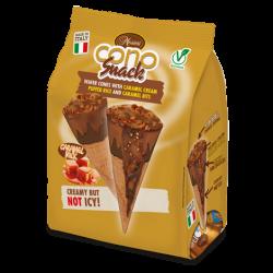 Messori Cono Snack Caramel Cream pk/4