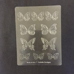 Gelatin Veining Sheet Butterfly