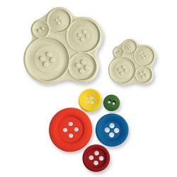 JEM Pop It Mould Buttons Set/2