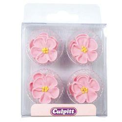 Culpitt Suiker Decoratie Pink Rose pk/12