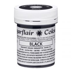 Sugarflair Chocolate Colour Black 35gr