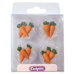 Culpitt Suikerdecoratie Wortels pk/12