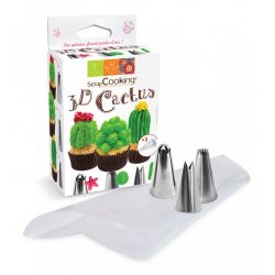ScrapCooking Decorating Kit Cactus