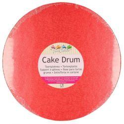 FunCakes Cake Drum Rood
