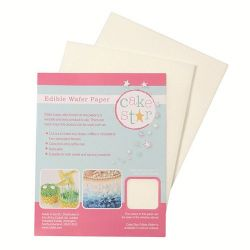 Cakestar Edible Wafer Paper White pk/12