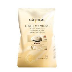 Callebaut Chocolade Mouse Wit