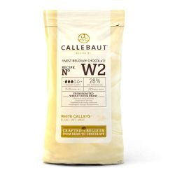 Callebaut Chocolade Gallets wit