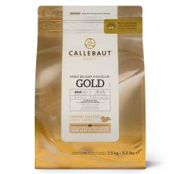 Callebaut  Chocolade Callets Gold 2,5kg