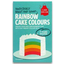 Cake Decor Rainbow Cake Kit