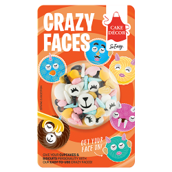 Cake Decor Crazy Faces tht 9-12-2021