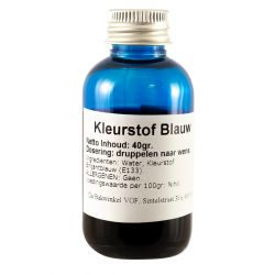 Kleurstof Blauw 40ml