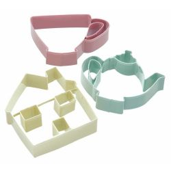 KitchenCraft Tea Time Cookie Cutters