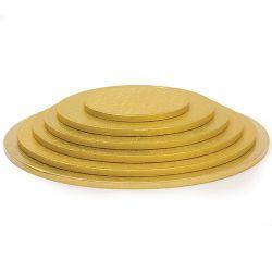 Decora Cake Drum Goud 25x1,2cm