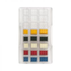 Decora Polycarbonaat Chocolade Vorm Bricks