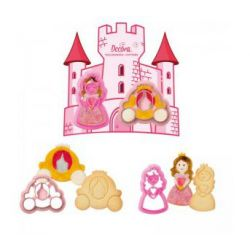 Decora Plastic Cookie Cutters Princess