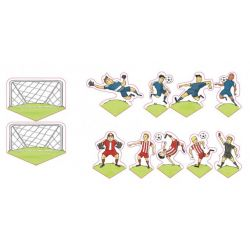 Decora Decorative Picks Soccer 11/pc