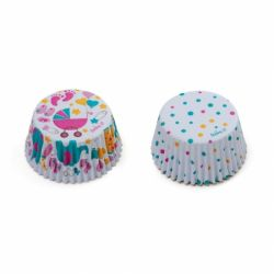Decora Baby Shower Girl Cupcakevormpjes 50st