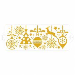 Decora Stencil Christmas Decoration